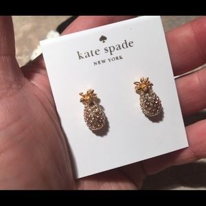 Brand New Kate Spade Pineapple 🍍 Earrings R